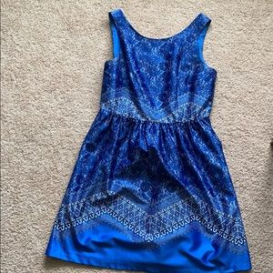 Outback Red blue paisley dress size 10